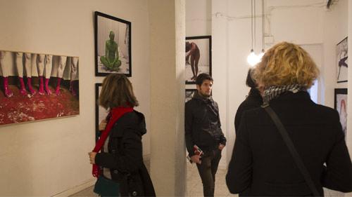 ABAJO IZQUIERDO - Exposición - Galería Espacio 8