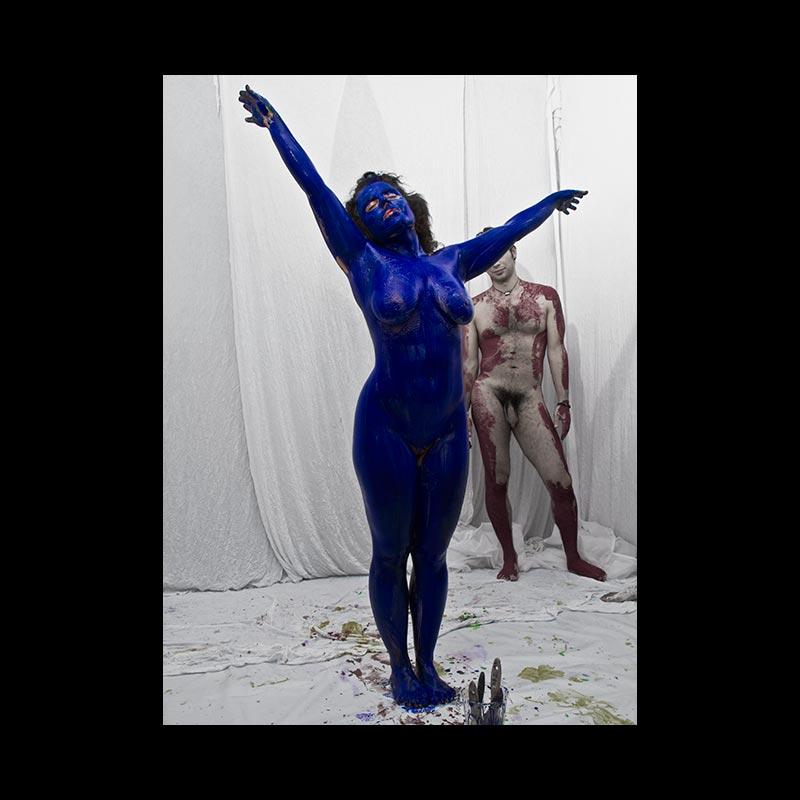 ABAJO IZQUIERDO - Performance - Azul