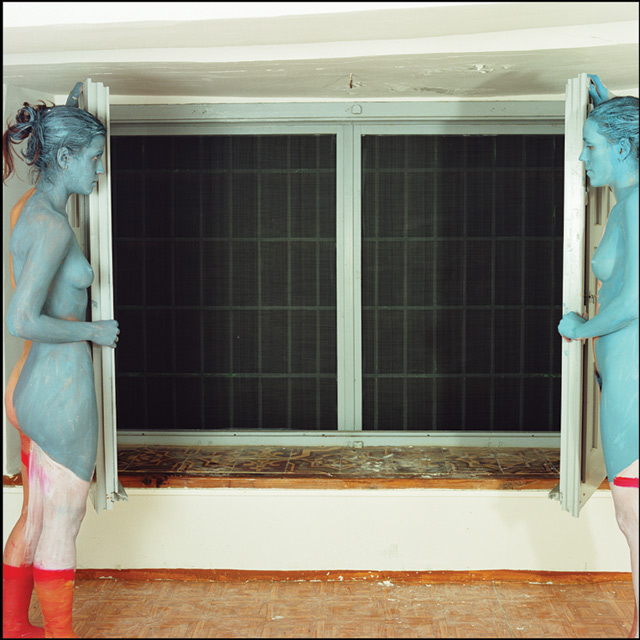 ABAJO IZQUIERDO - Obra - Pareja en una ventana