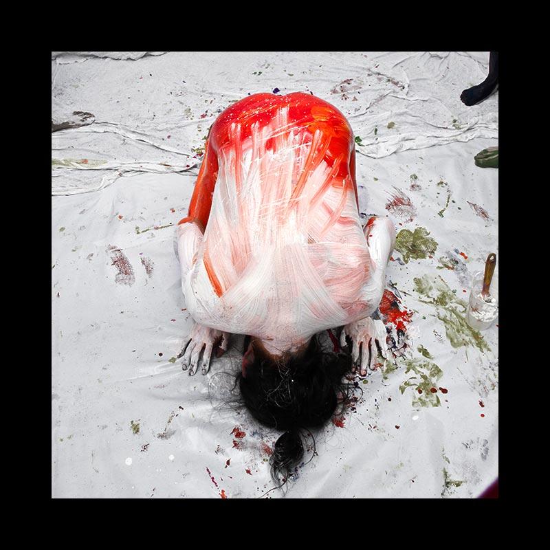 ABAJO IZQUIERDO - Performance - Blanco-Rojo